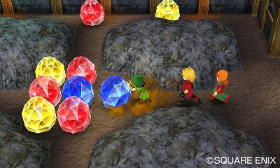 Quelques mini jeux devront être résolus lors de l'exploration de donjons.