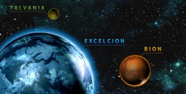 Le système des Bermudes contient des planètes variées