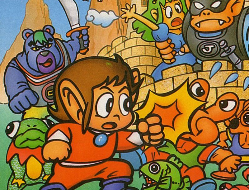 Alex Kidd dans in the Miracle World