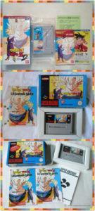 Les boites du jeu dans ses version japonaise, française et espagnole.
