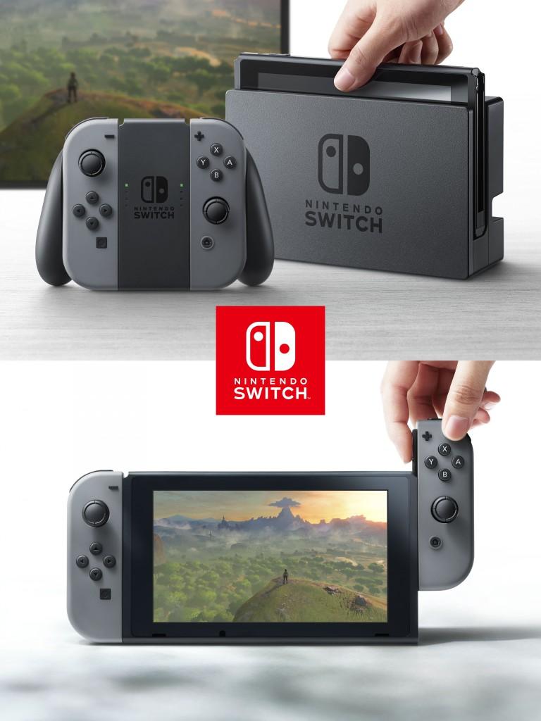 La NX désormais connue sous le nom de Nintendo Switch