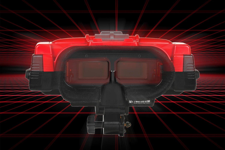Le Virtual Boy de Nintendo, une console conçue pour les enfants et déconseillée aux... enfants.
