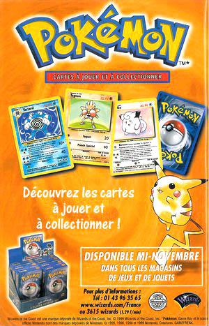 Les cartes Pokémon, un véritable phénomène des cours de récrée.