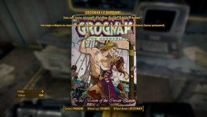 Des magazines permettent de booster les compétences de notre personnage et ajoutent des objets à collecter.