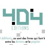 404-editions-nouvelle-marque-douvrages-geek-logo