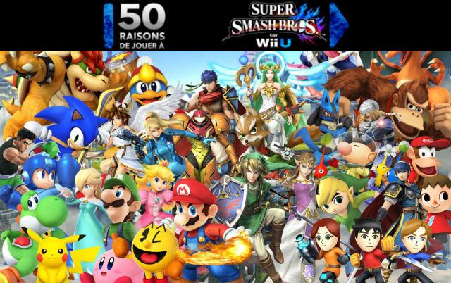 50 raisons de jouer à Smash Bros. for Wii U