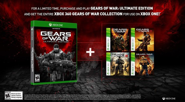 Gears of War  Ultimate Edition-collection 360