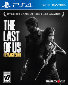 The Last of Us Remastered-Jaquette