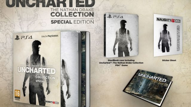 Uncharted The Nathan Drake Collection-Edition collector