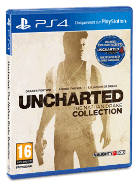 Uncharted The Nathan Drake Collection-Jaquette