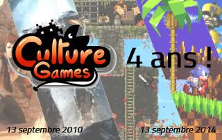 Culture Games a 4 ans