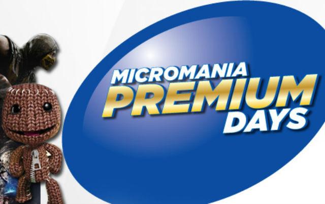 Micromania Premium Days