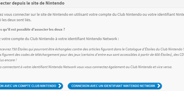 Invitation officielle de Nintendo