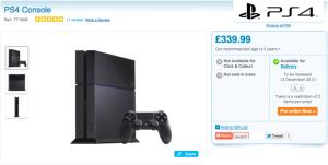 Sortie officielle de la PS4 le 13 décembre ?
