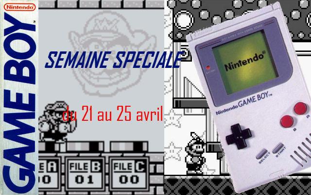 Semaine spéciale Game Boy du 21 au 25 avril