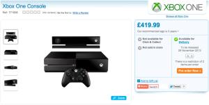 La Xbox One pour le 31 novembre 2013 ?