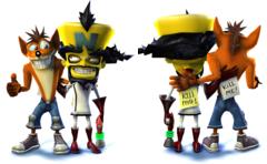 Crash et NEO Cortex, meilleurs ennemis