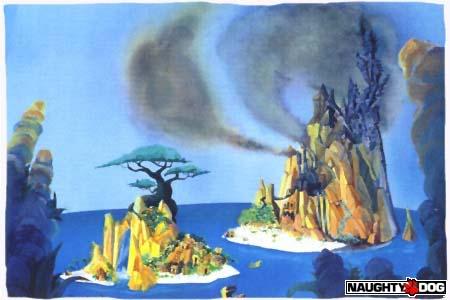 Les îles Wumpa menacées