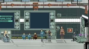 Première scène: Piratage !