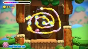 Kirby se dirige entièrement au stylet.