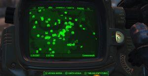 La carte déborde de lieux à explorer.