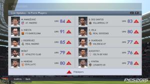 Dans myClub, les statistiques des joueurs sont mises à jour en fonction de la forme des joueurs IRL.