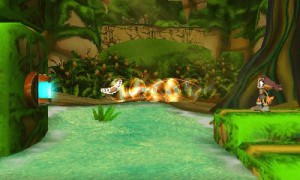 Le gameplay change selon le personnage utilisé.