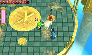 Un combat tiré du mode Arène uniquement disponible en ligne à deux ou 3 joueurs.