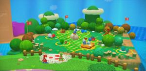 La carte et la progression sont identiques à Super Mario 3D World.