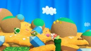 Yoshi avale ses ennemis et les transforme en pelotes de laine pour s'en servir comme projectiles.