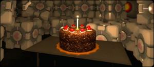 Le gâteau promis par GLaDOS n'est peut-être pas un mensonge...