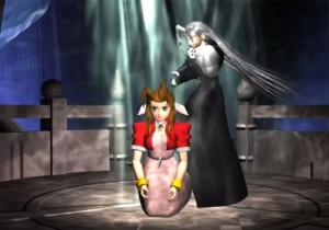 Sephiroth kills Aeris