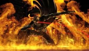 Wesker dans Marvel vs capcom 3 qui s'en prend au Phoenix, tranquillement