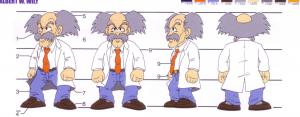 Le design du Dr. Wily évoluera peu. Sa cravate devient rouge dès le deuxième épisode et le restera, bien que ce détail ne soit pas visible directement dans les jeux NES en raison de la faible résolution.