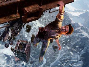 Uncharted 2 : Among Thieves démarre avec une scène mythique.
