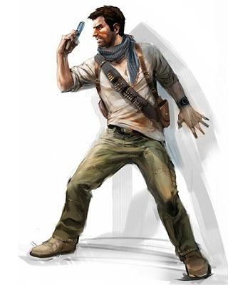 Concept art de Nathan pour Uncharted 3