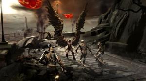 Kratos portant les ailes d'Icare.