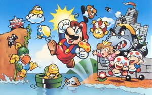 Artwork Super Mario Bros. (NES, 1985)