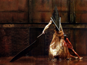 Pyramid Head version Silent Hill le film.