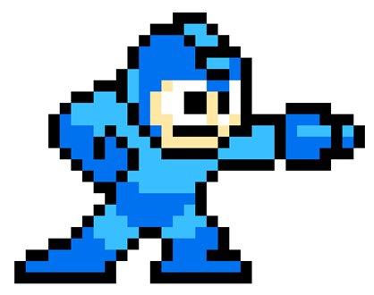 Mega Man en action et en pixels !