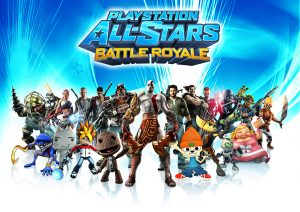 Sackboy parmi les icônes PlayStation dans PlayStation All-Stars Battle Royale