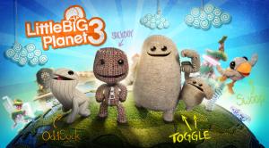 Sackboy et ses compagnons dans LittleBigPlanet3