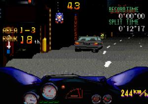 Sonic apparaît pour la première fois dans Rad Mobile (Arcade, 1991)