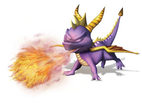 Le feu, première arme du dragon