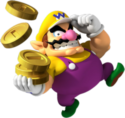 La principale motivation de Wario : s'enrichir !