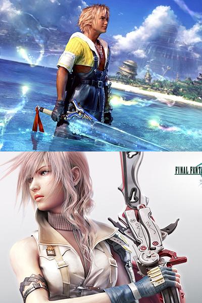 Les gros titres du scénariste : Final Fantasy X et XIII ainsi que leurs suites.