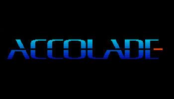 Premier logo d'Accolade