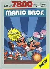 Le célèbre Mario Bros., adapté de l'arcade sur Atari 7800.