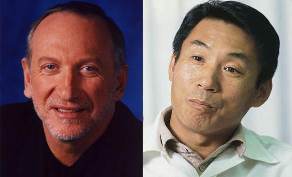 Bernie Stolar et Shoichro Irimajiri
