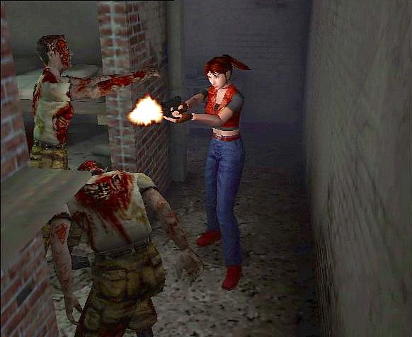 Resident Evil: Code Veronica.